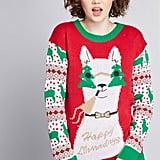 Happy Llamadays Holiday Sweater