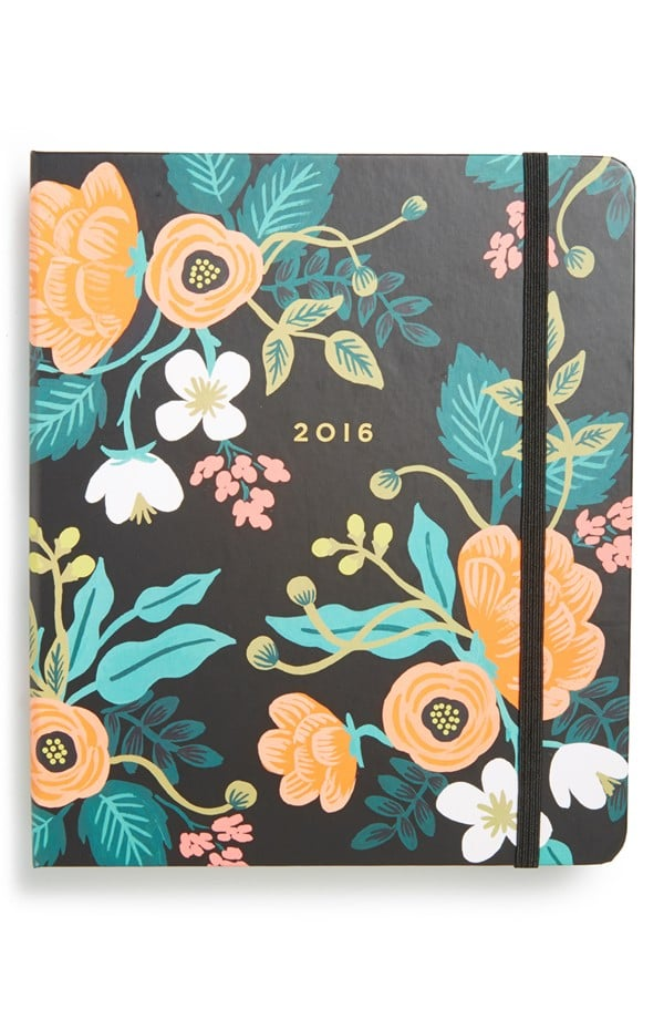 Rifle Paper Co. Floral 17-Month 2016 Planner