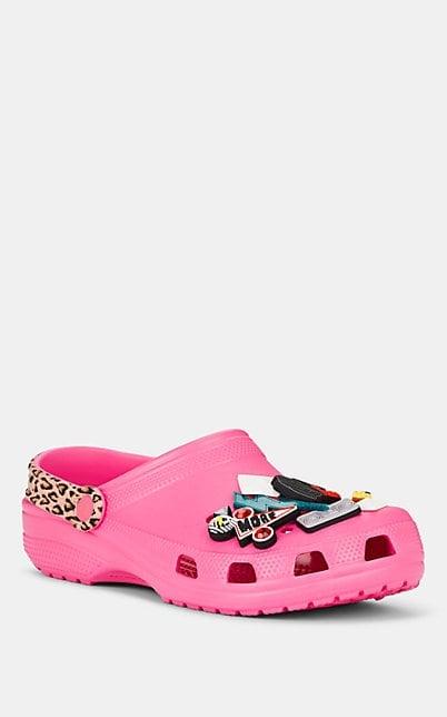 Barneys New York Spiked Crocs