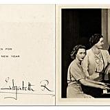 بطاقة من الملك جورج السادس، 1947