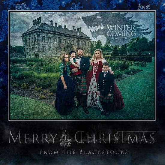 Kelly Clarkson's Family Christmas Card 2015