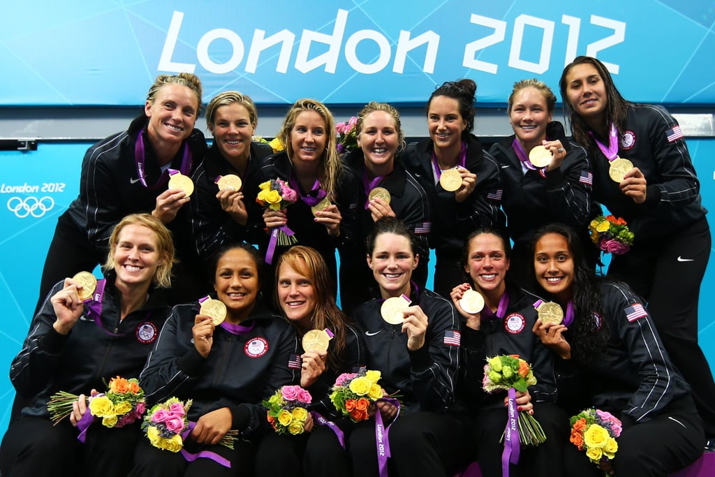 After beating Spain 8-5, the women's water polo team was able to bring home the gold for the first time in US history.