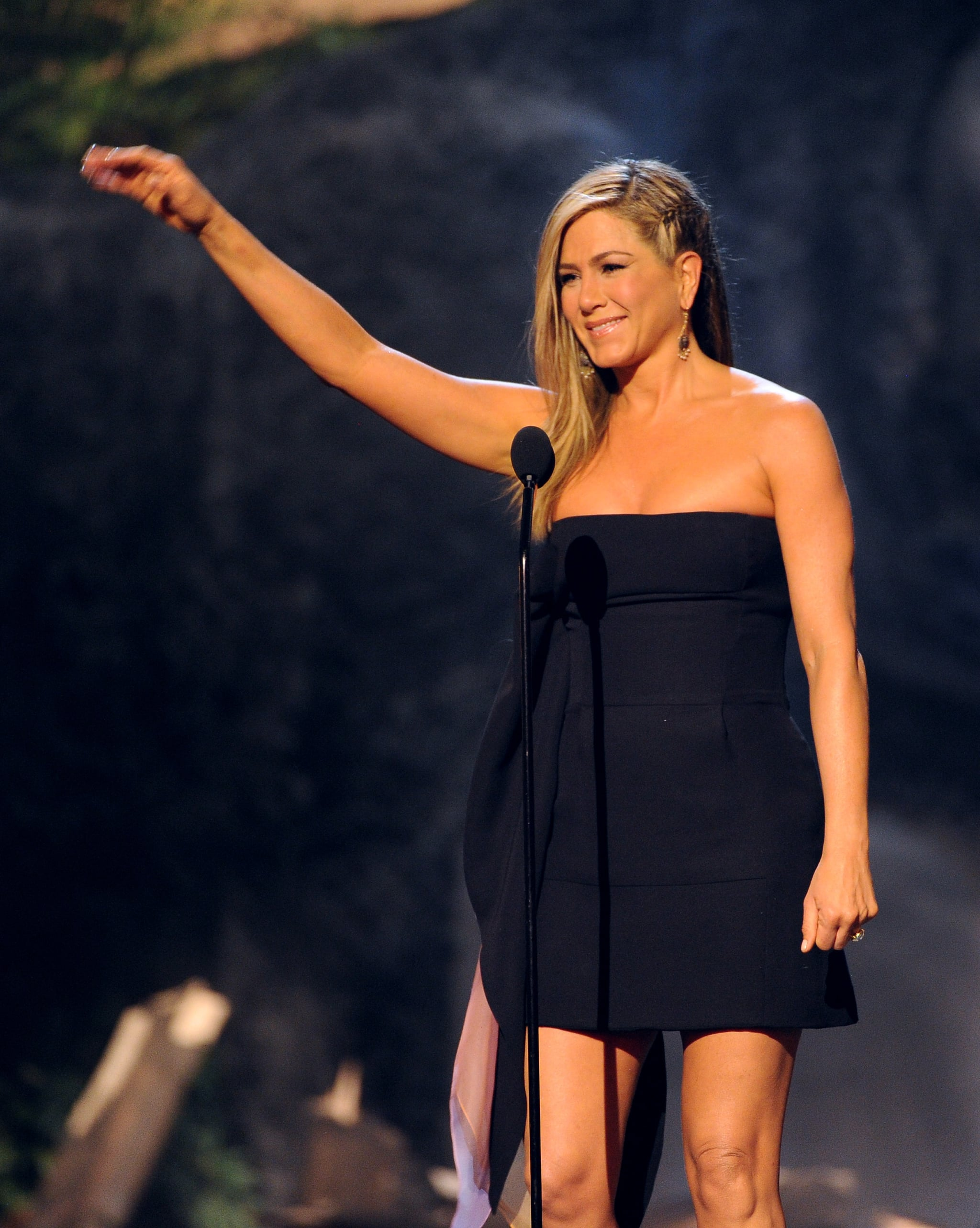 Jennifer Aniston Joins the Boys at the Guys Choice Awards