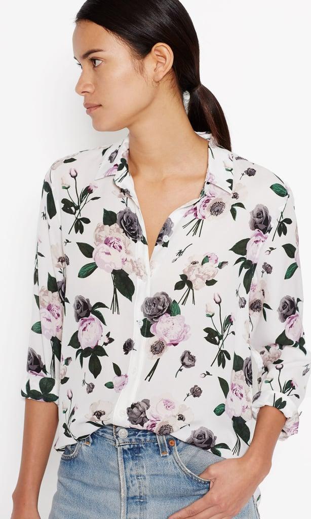 Equipment Leema Silk Shirt ($258)