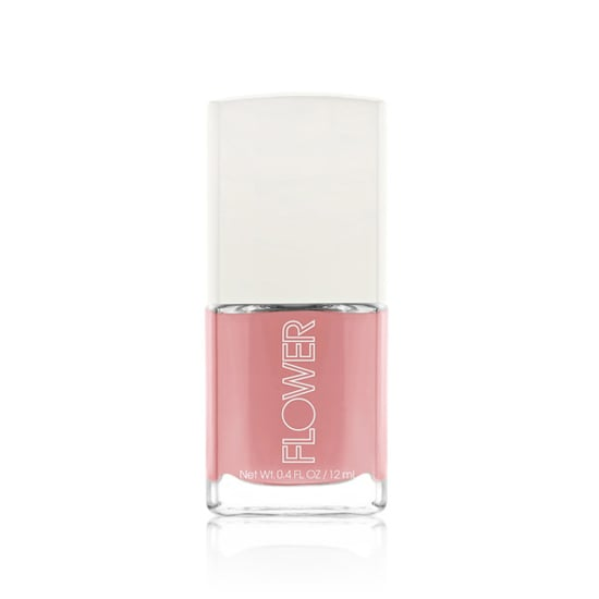 As the name suggests, Flower Nail'd It Nail Lacquer in May Flowers ($5) is a floral pink that's right on for May.
