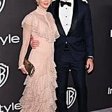 Emily Blunt and John Krasinski 2019 Golden Globes Pictures