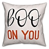 Designs Direct Boo on You Square Pillow