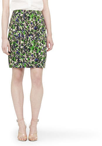 With this high-impact printed Club Monaco skirt ($140), you'll just need a solid button-down or tank to make a statement.