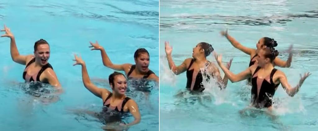 Watch an Incredible Synchronized Swimming Beyoncé Routine