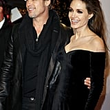 Pictures of Angelina Jolie and Brad Pitt and Berlin Premiere of The Tourist