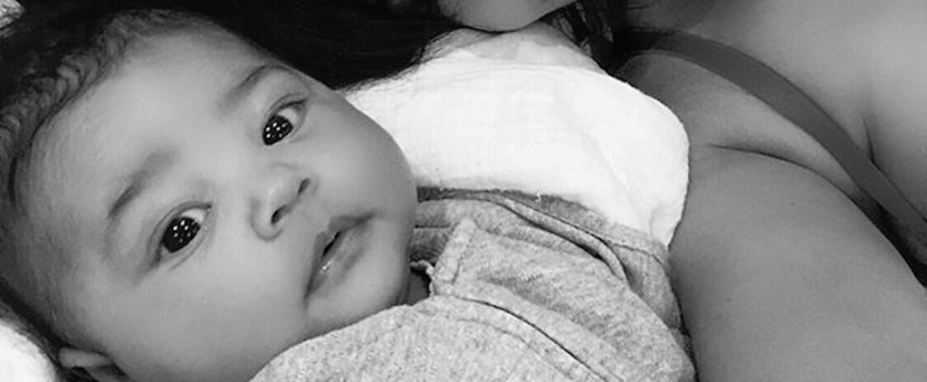 At Only 1 Month Old, Baby Stormi Is Already a Pro at Selfies — Just Like Mom Kylie Jenner
