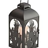 Led Iron House Lantern