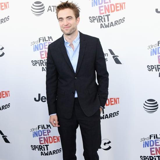 Robert Pattinson at the 2018 Spirit Awards