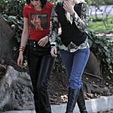Photos of Kristen and Dakota