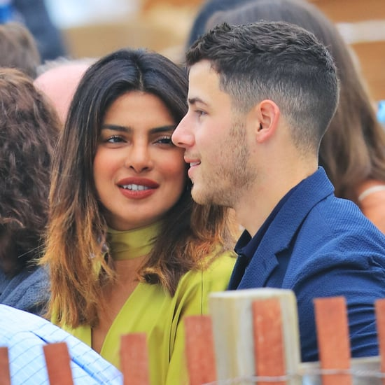 Nick Jonas and Priyanka Chopra at a Wedding June 2018