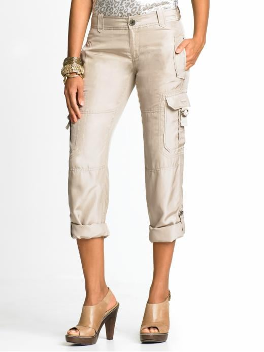 Banana Republic Heritage Washed Silk Cargo Pant ($50, originally $90)