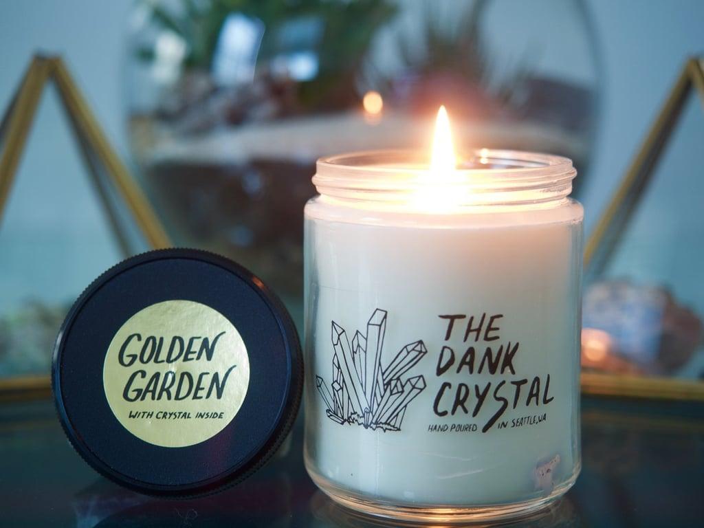 Gardenia and Fir Golden Garden Candle