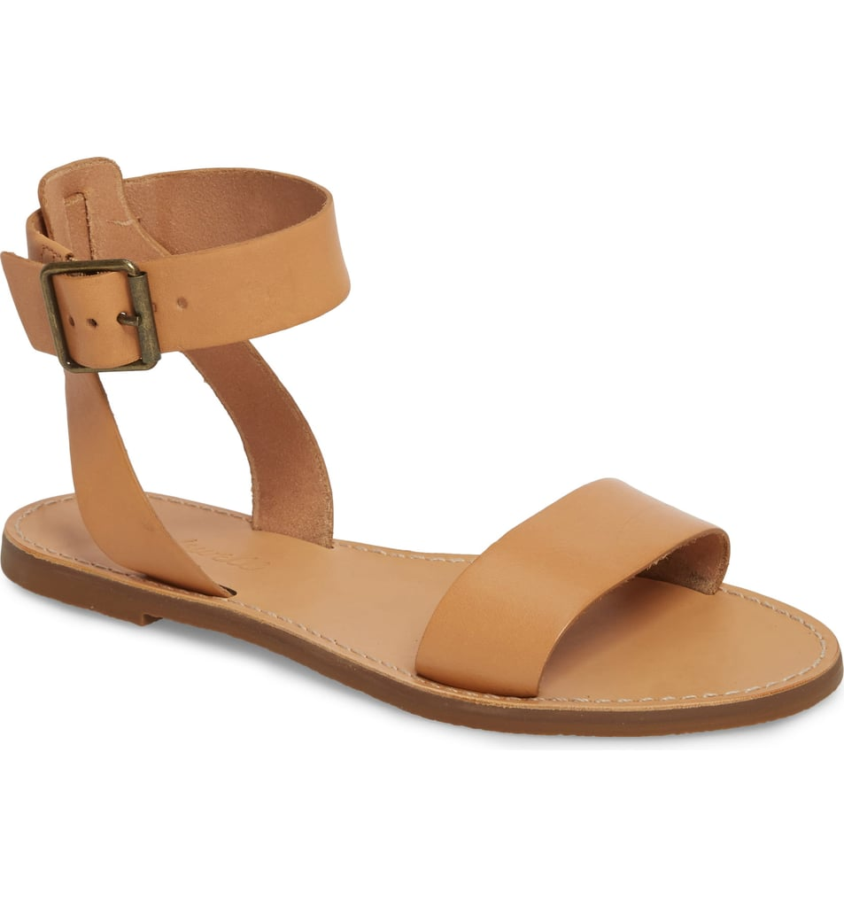 Madewell The Boardwalk Ankle Strap Sandals