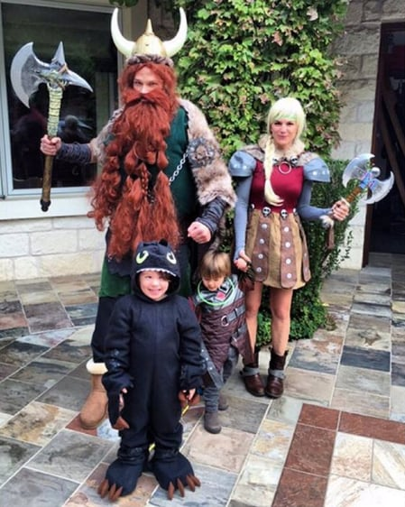 Jared padelecki and his family as how to train your dragon jared padelecki and his family as how to train your dragon characters ccuart Choice Image