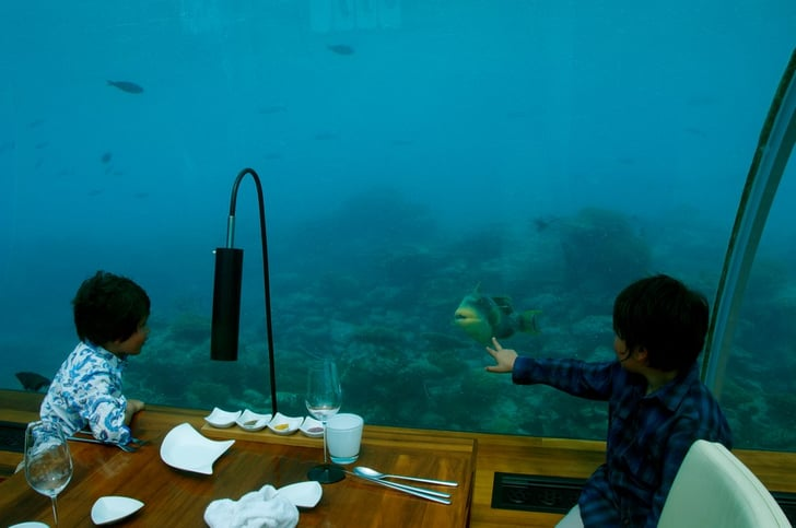 Eat In An Underwater Restaurant In The Maldives Called