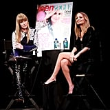 Nicole Richie was the speaker at the Teen Vogue Fashion University event in NYC.