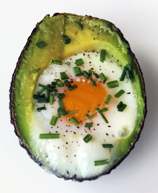 Baked Egg in Avocado
