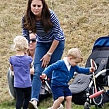 William and Kate are the same age, and even before they made joint friends at university, as teenagers their friends all overlapped. Their social group is entirely blended so there is no real separation as to who does what and with whom.