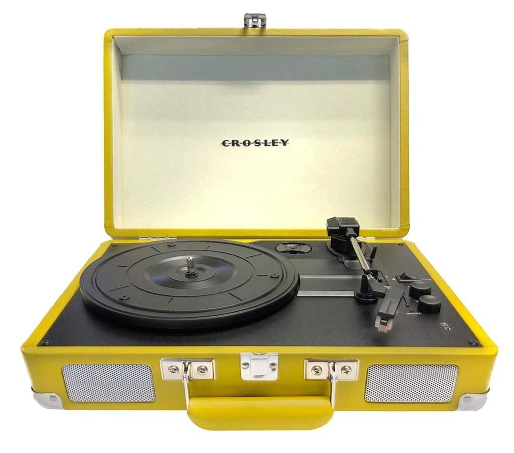 Crosley Cruiser Deluxe Portable 3-Speed Turntable