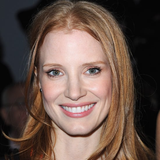 Jessica Chastain at Armani Privé