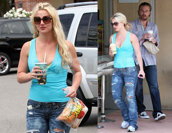 Pictures of Britney Spears and Jason Trawick in LA 2010-05-26 16:00:00