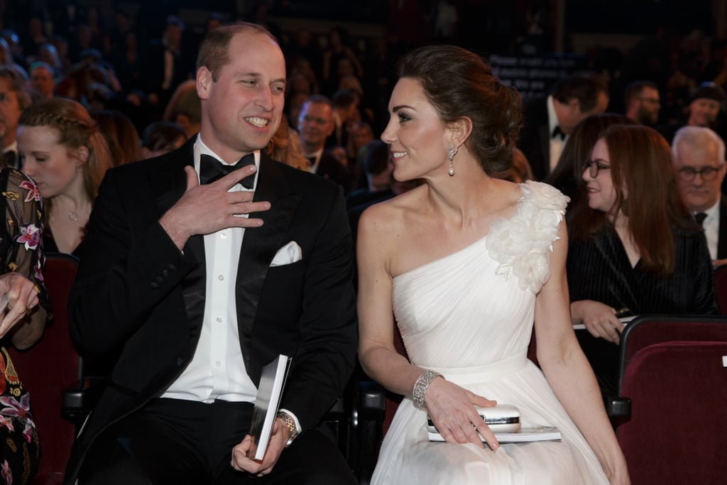 Prince William and Kate Middleton Meeting BAFTA 2019 Winners