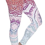Amazon Ndoobiy Digital Printed Women's Full-Length Yoga Workout Leggings