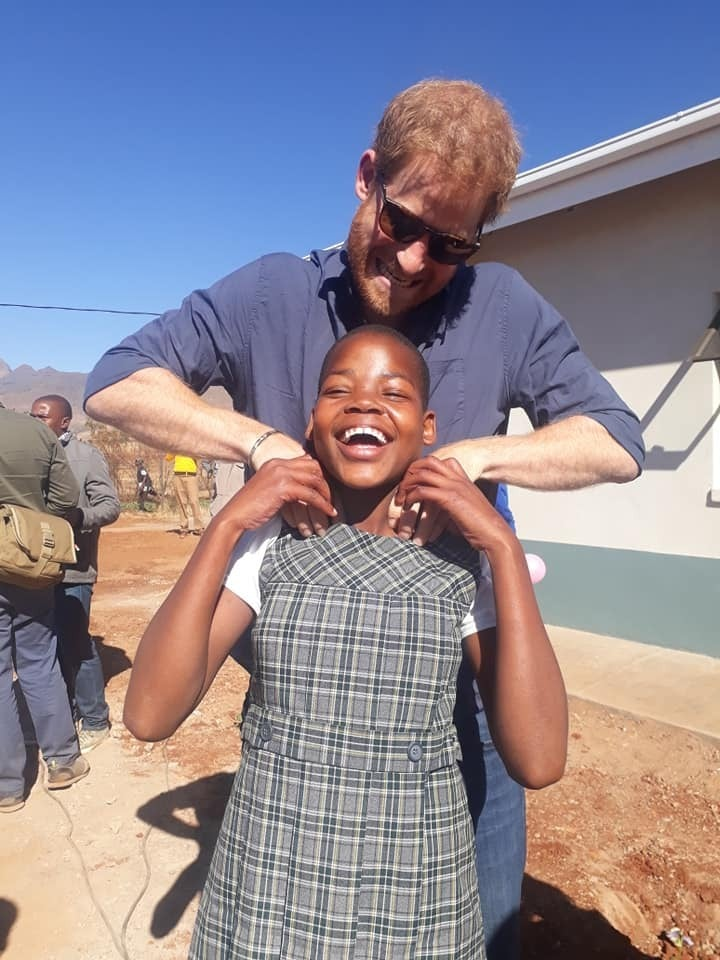 Prince Harry Visits Africa June 2018
