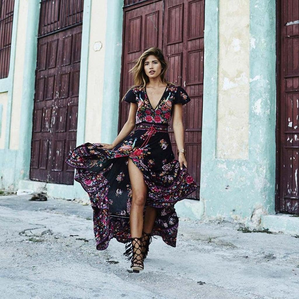 Sunward Long Dress