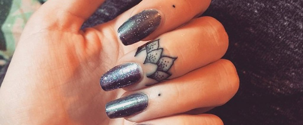 18 Pretty Cuticle Tattoos That Are Even Better Than Nail Art