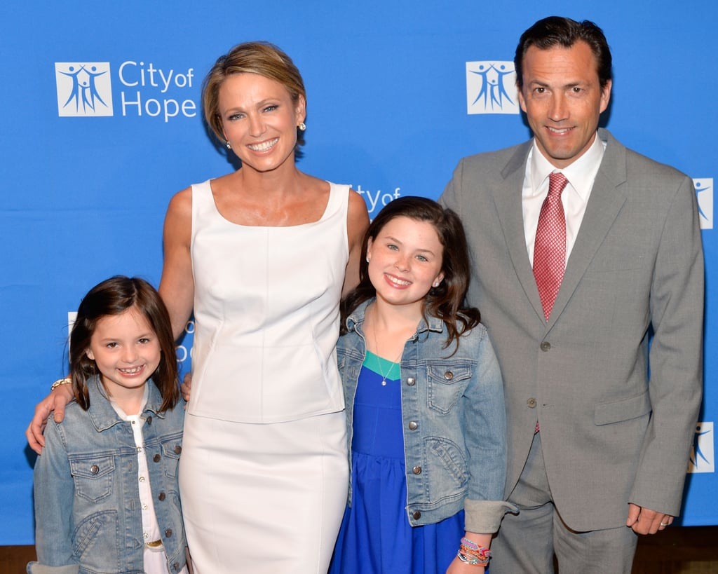Amy Robach on Telling Her Children She Has Cancer