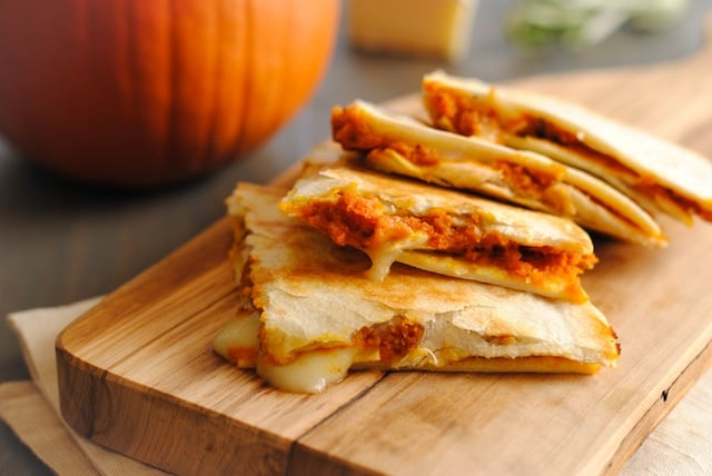 Pumpkin-Brie Quesadillas