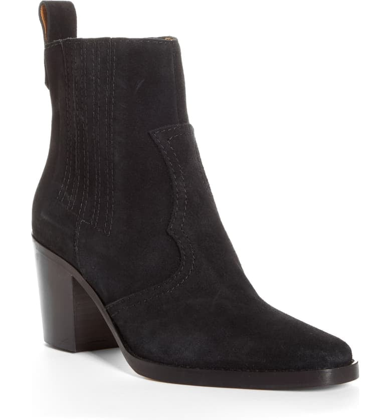 Ganni Short Western Boots
