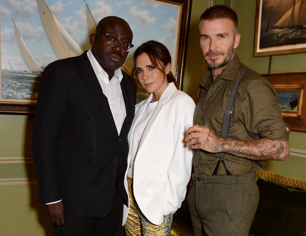 Celebrities at Victoria Beckham's LFW Party September 2018