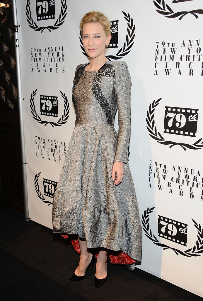 Just because Cate Blanchett was covered up in Antonio Berardi didn't mean she was anything less than sexy at the New York Film Critics Circle Awards Ceremony.