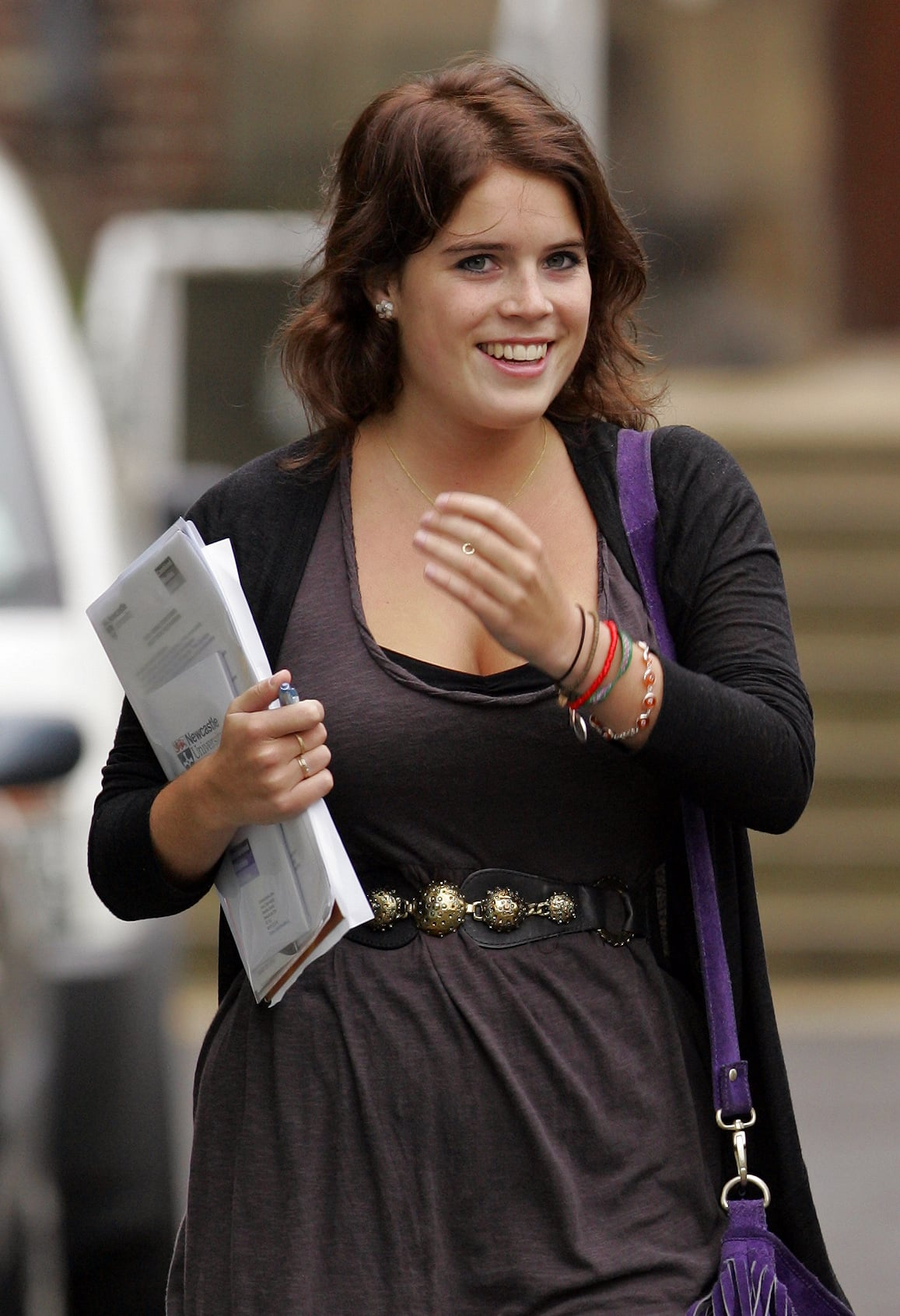 Photos Of Princess Eugenie At Newcastle University