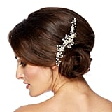 Jon Richard Diamante and Pearl Spray Flower Hair Comb