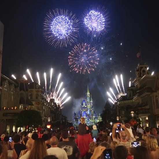 New Walt Disney World Fireworks Show at Magic Kingdom 2021