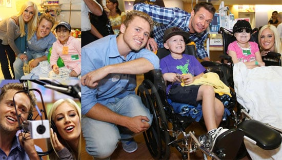 Photos of Heidi Montag and Spencer Pratt with Ryan Seacrest at Children's Hospital of Orange County