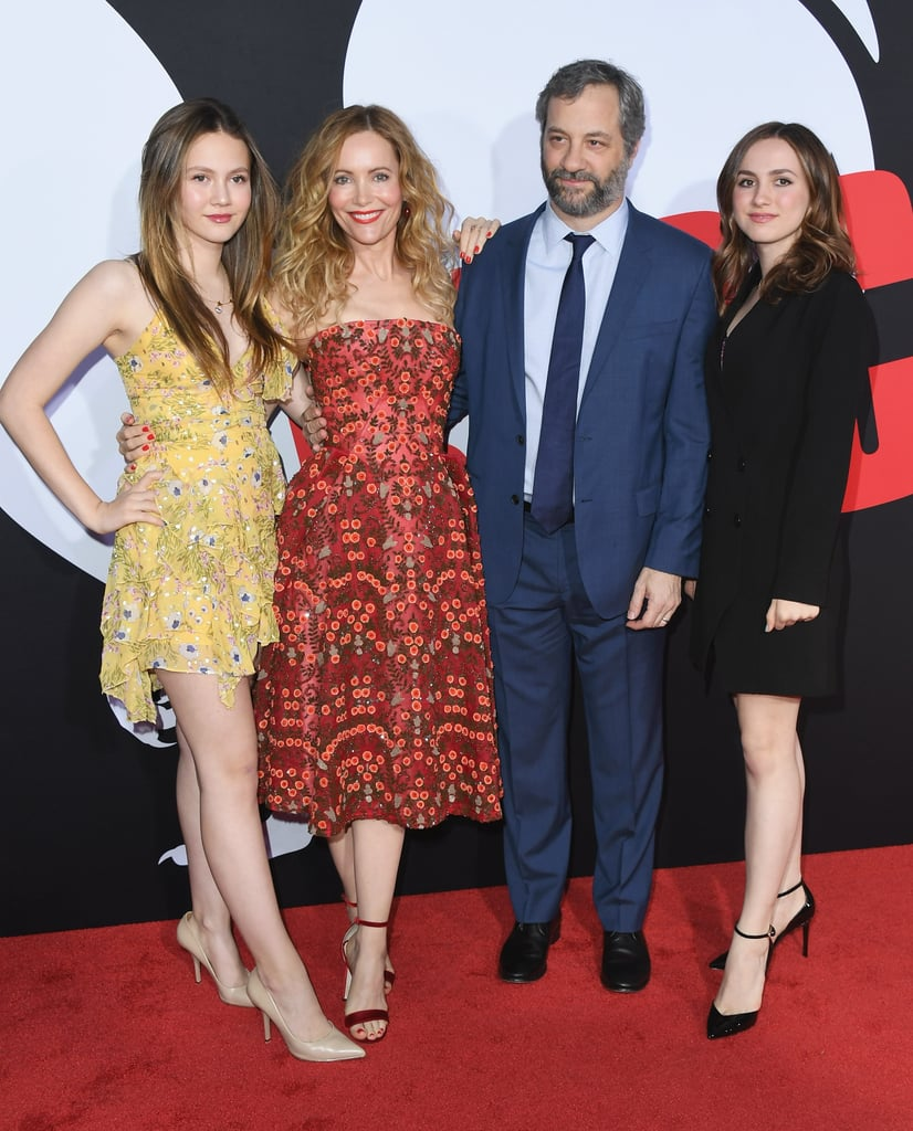 Leslie Mann and Her Family at Blockers LA Premiere 2018