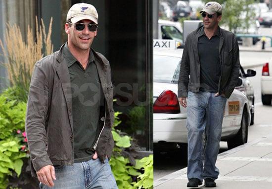 Photos of Mad Men's Jon Hamm Walking