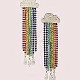 Into the Sky Rainbow Fringe Linear Earrings