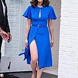 Olivia in Diane von Furstenberg, June 2017