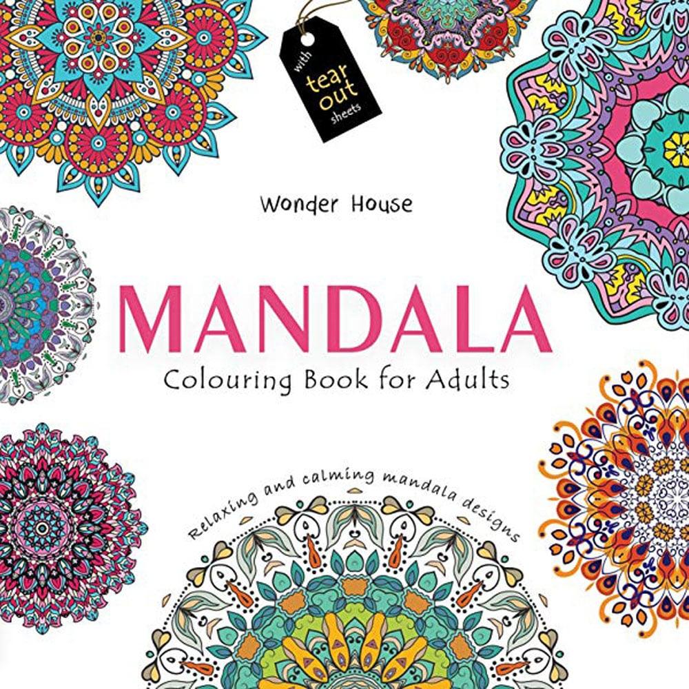 Mandala Art Colouring Book