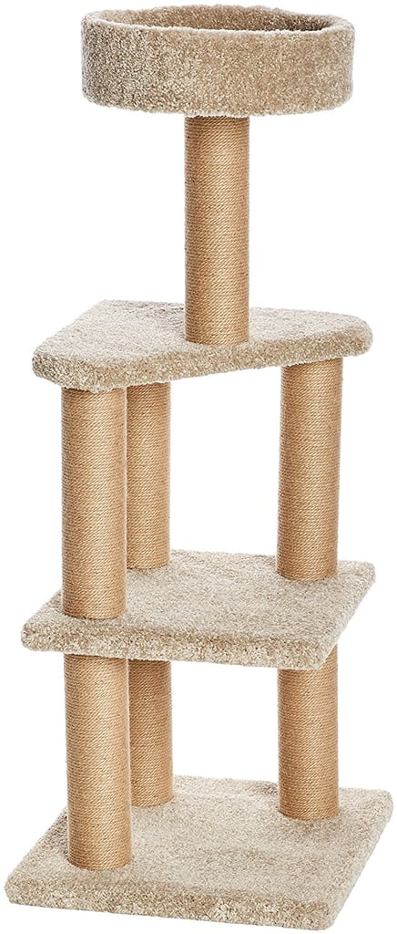 AmazonBasics Large Cat Tree With Scratching Posts